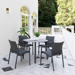 Mambo & Cassis Dining Setting - Charcoal