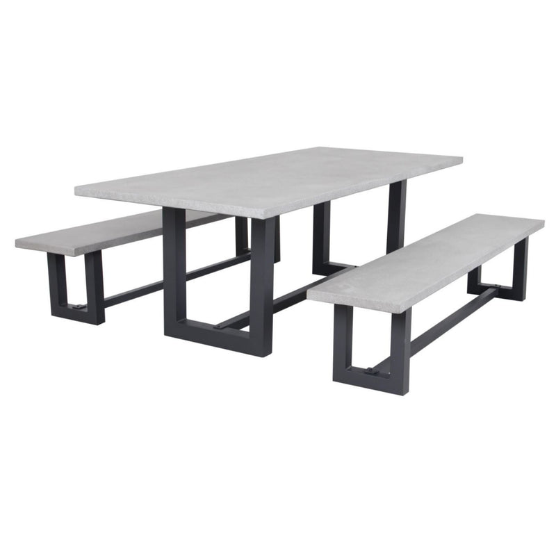 Sleek GRC Outdoor Table