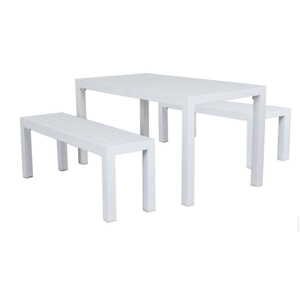 Osaka Bench Setting - White