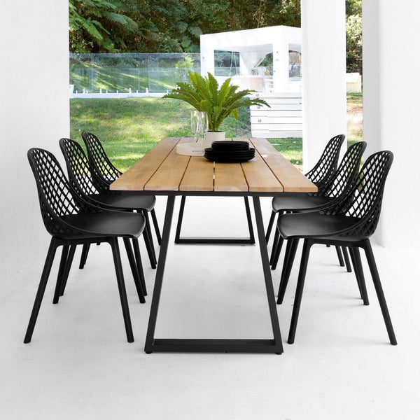 Ruby & Apollo Dining Setting - 9 pce