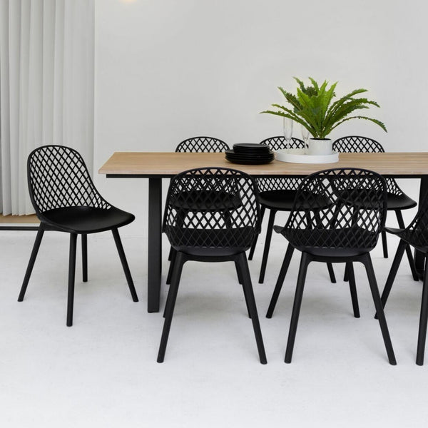 Ruby & Apollo Dining Setting - 7 pce