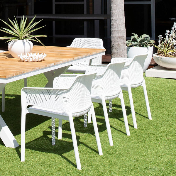 Ashley outdoor stackable resin chair