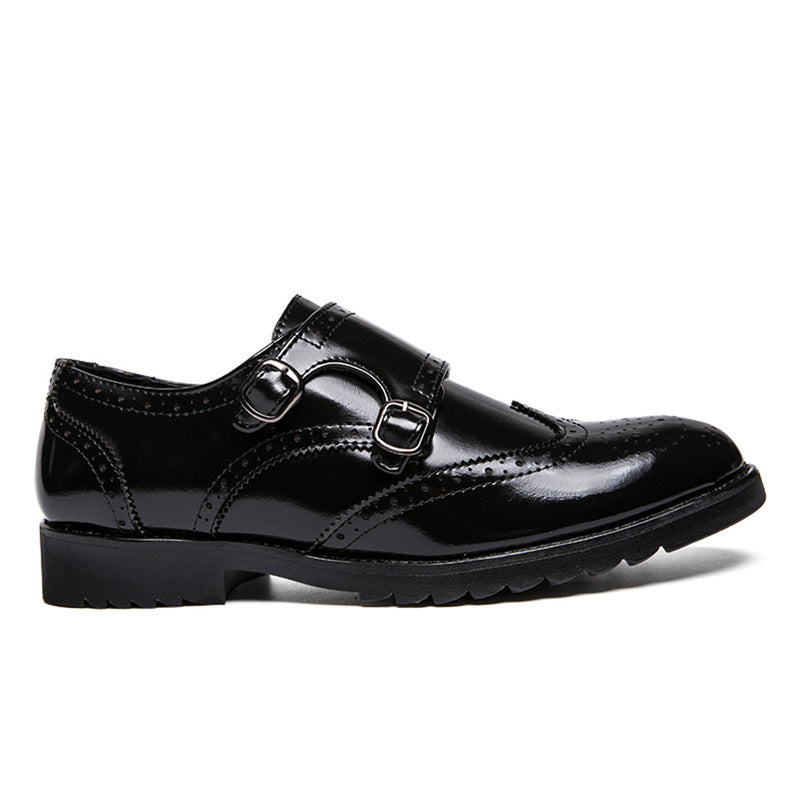 Buckle Dress Shoes Loafers