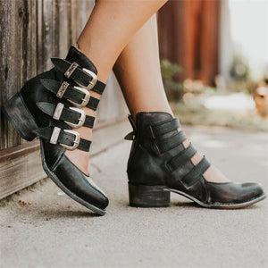 Vintage Pointed Toe Boots