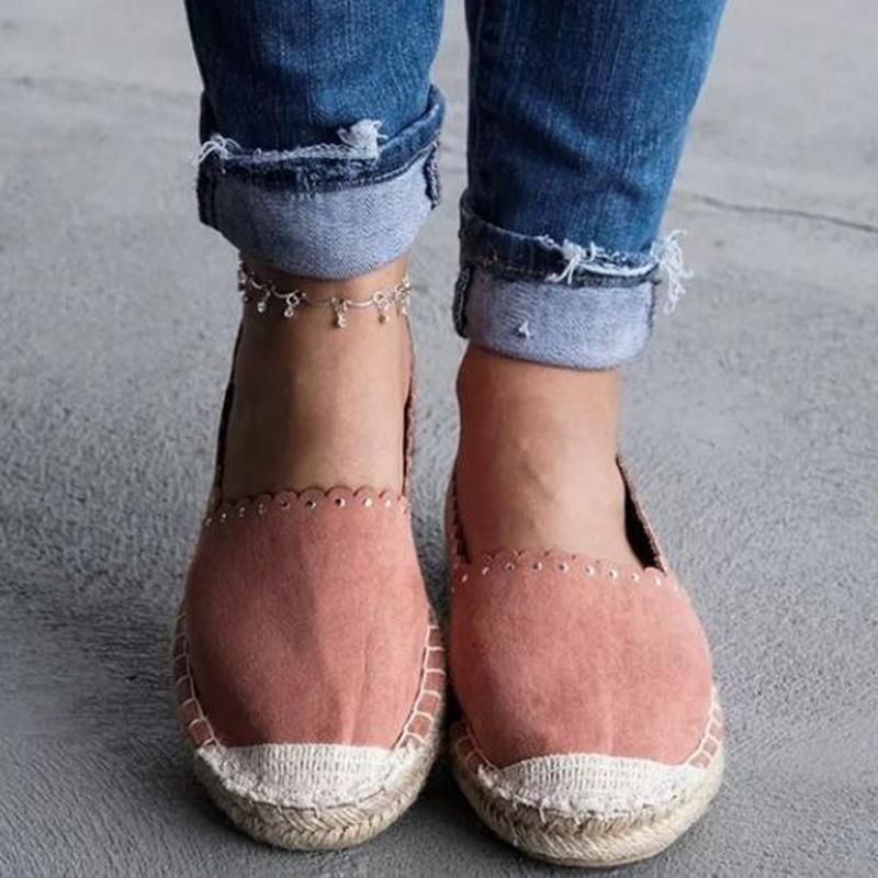 Colorblock Flat Shoes Loafers