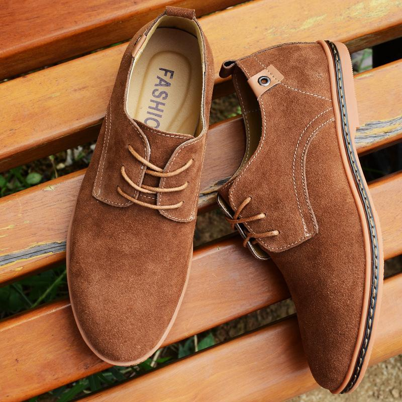 Suede Casual Shoes