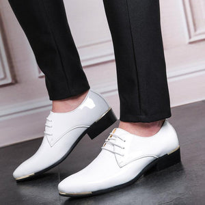 Men's Leather Shoes Dress Shoes