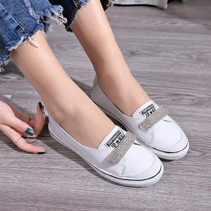 Bow Casual Shoes Loafers