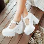 High Heels Wedge Shoes