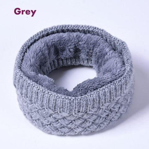 Faux Fur Solid Color Snood/Cosy Collar & Neck Warmers