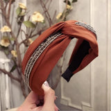 Headband for Women, high quality with Rhinestone Detailing,  7 color options