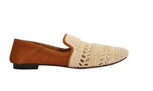 Raffia slip on & off