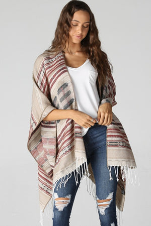 The Kelsey Poncho - Jane & Kate