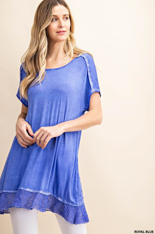 *FINAL SALE* The Delaney Top - ROYAL BLUE