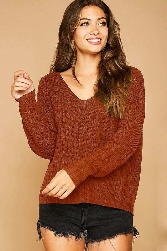 *FINAL SALE* The Oaklyn Sweater