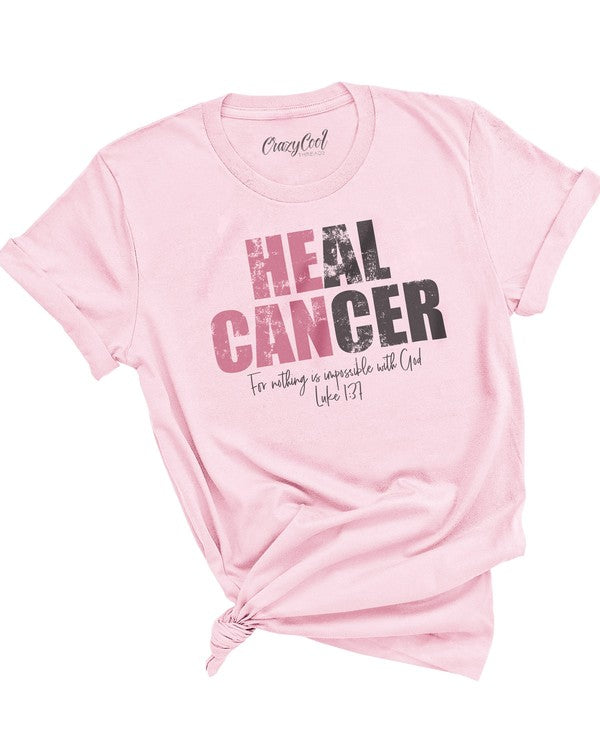 "*FINAL SALE* ""Heal Cancer"" Graphic Tee"