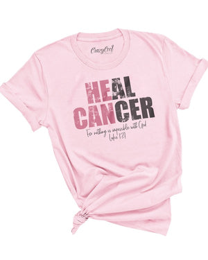 "*FINAL SALE* ""Heal Cancer"" Graphic Tee - Jane & Kate"