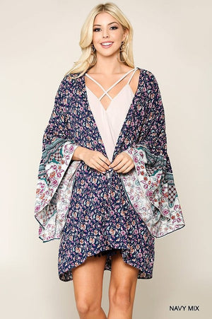 *FINAL SALE* The Sydney Kimono - NAVY - Jane & Kate