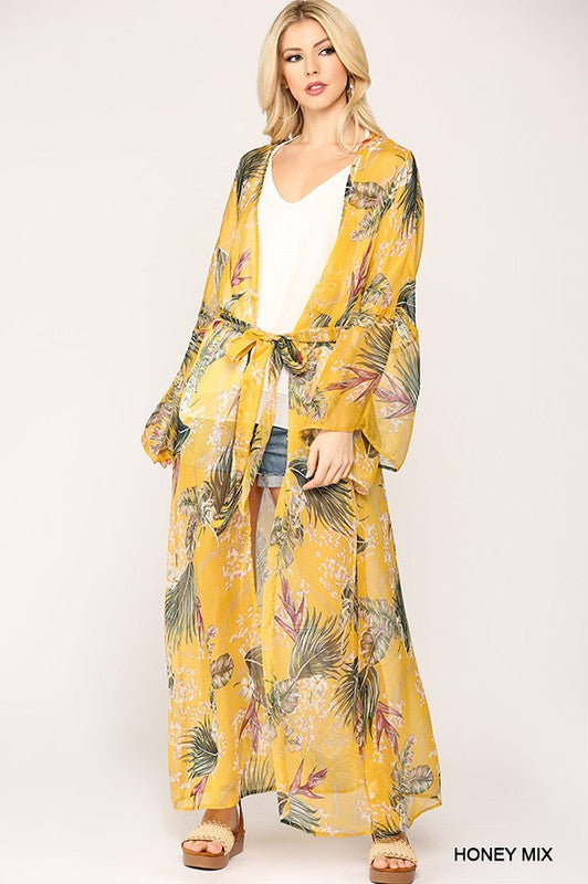 The Trisha Kimono - HONEY MIX