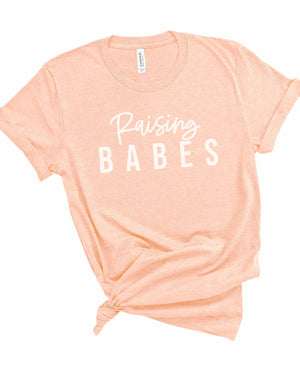 """Raising Babes"" Graphic Tee - Jane & Kate"