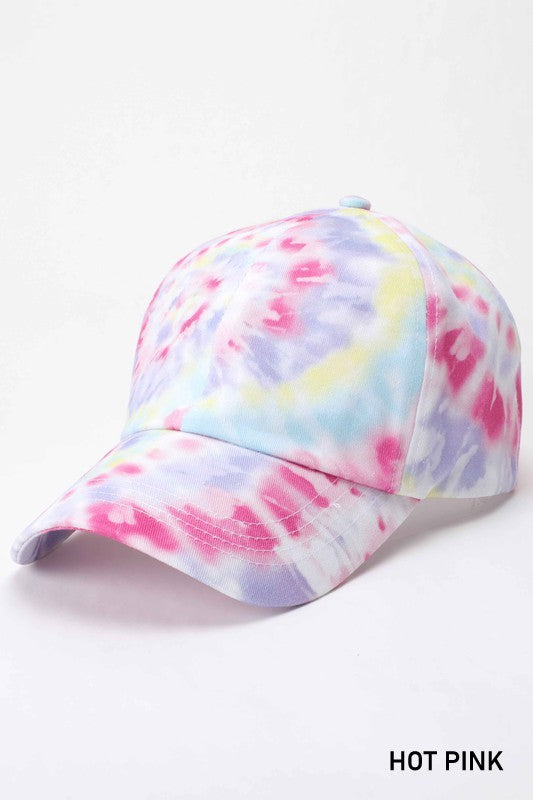 *FINAL SALE* Tie Dye Baseball Hat