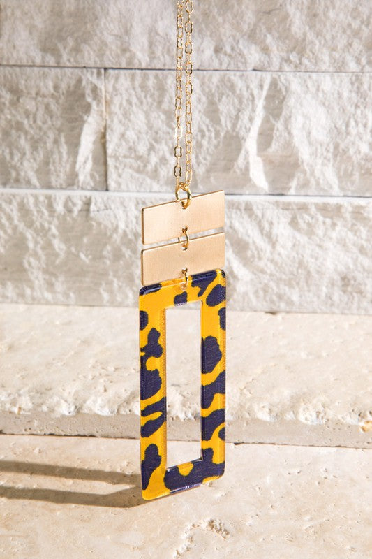 The Nina Necklace - YELLOW