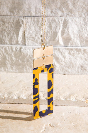 The Nina Necklace - YELLOW - Jane & Kate
