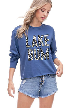 """Lake Bum"" Leopard Top - Jane & Kate"