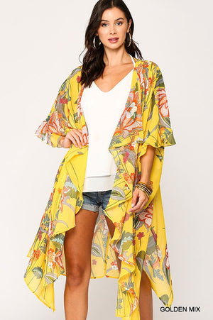 The Alyssa Kimono - GOLDEN MIX - Jane & Kate