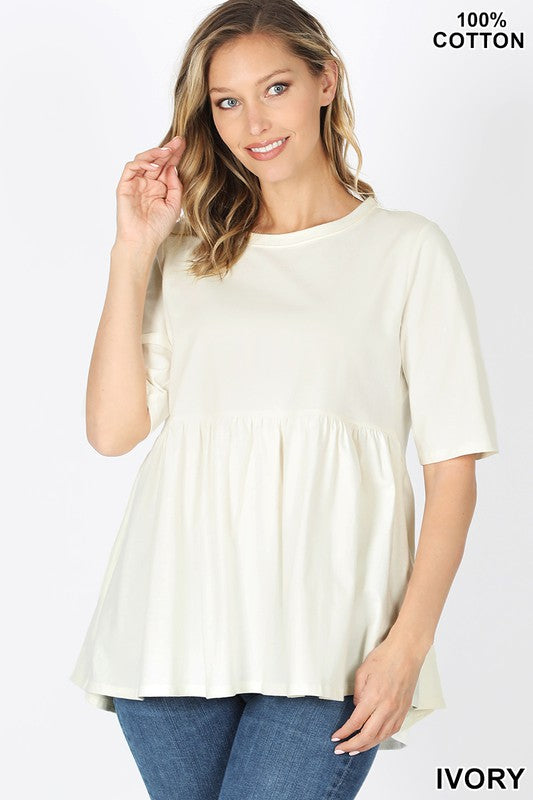 *FINAL SALE* The Brinley Babydoll Top