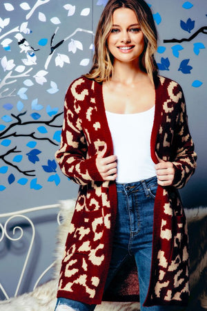 The Classic Leopard Cardigan - Jane & Kate
