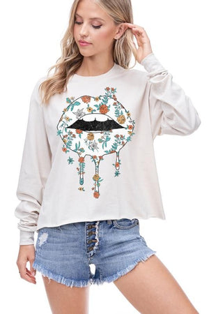 Kiss the Night Away Graphic Top - Jane & Kate
