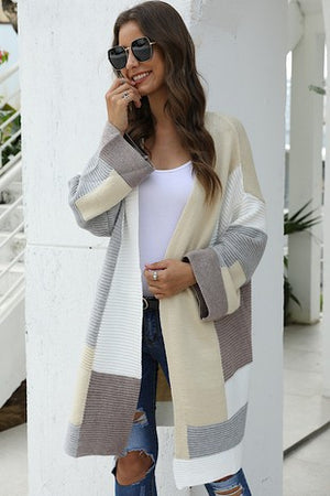 The Color Block Cardigan - Jane & Kate