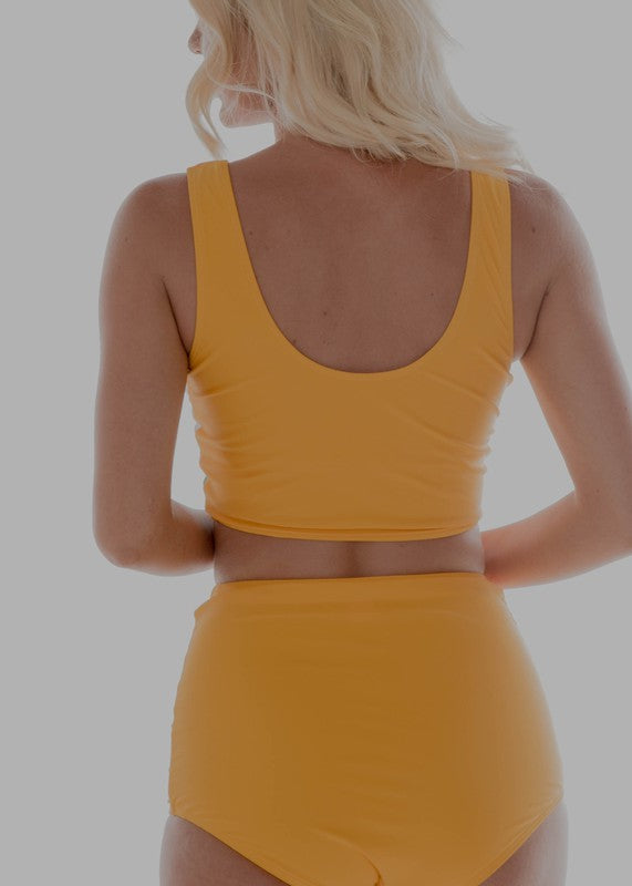 The Delilah Swimsuit Top - YELLOW