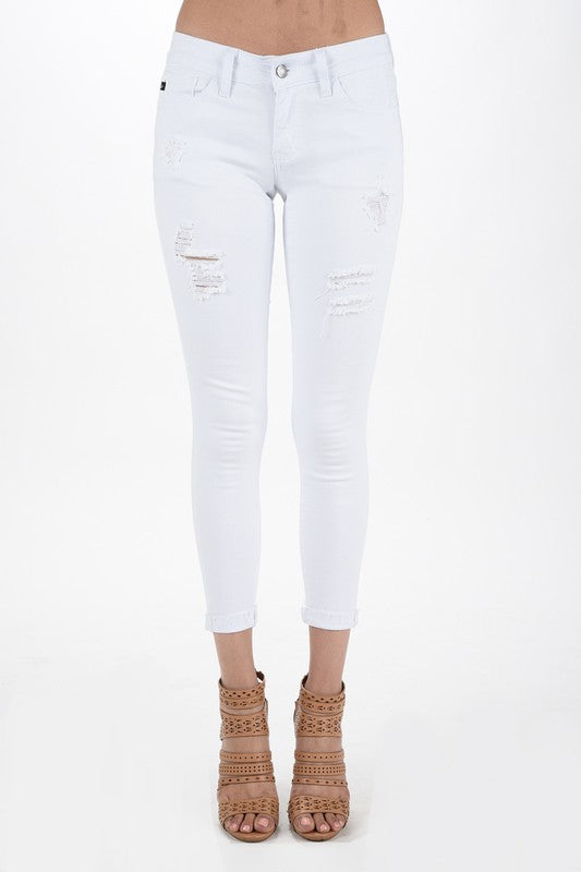 *FINAL SALE* KanCan MARLEY White Jeans