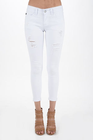 KanCan MARLEY White Jeans - Jane & Kate
