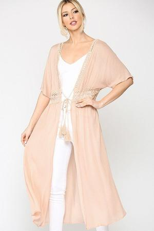 The Andrea Kimono - BLUSH - Jane & Kate