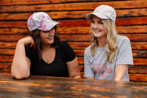 *FINAL SALE* Tie Dye Baseball Hat - Jane & Kate