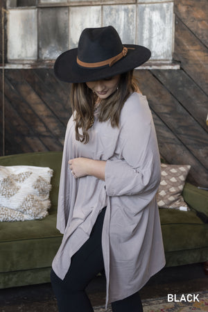 The Wide Brim Hat - Jane & Kate