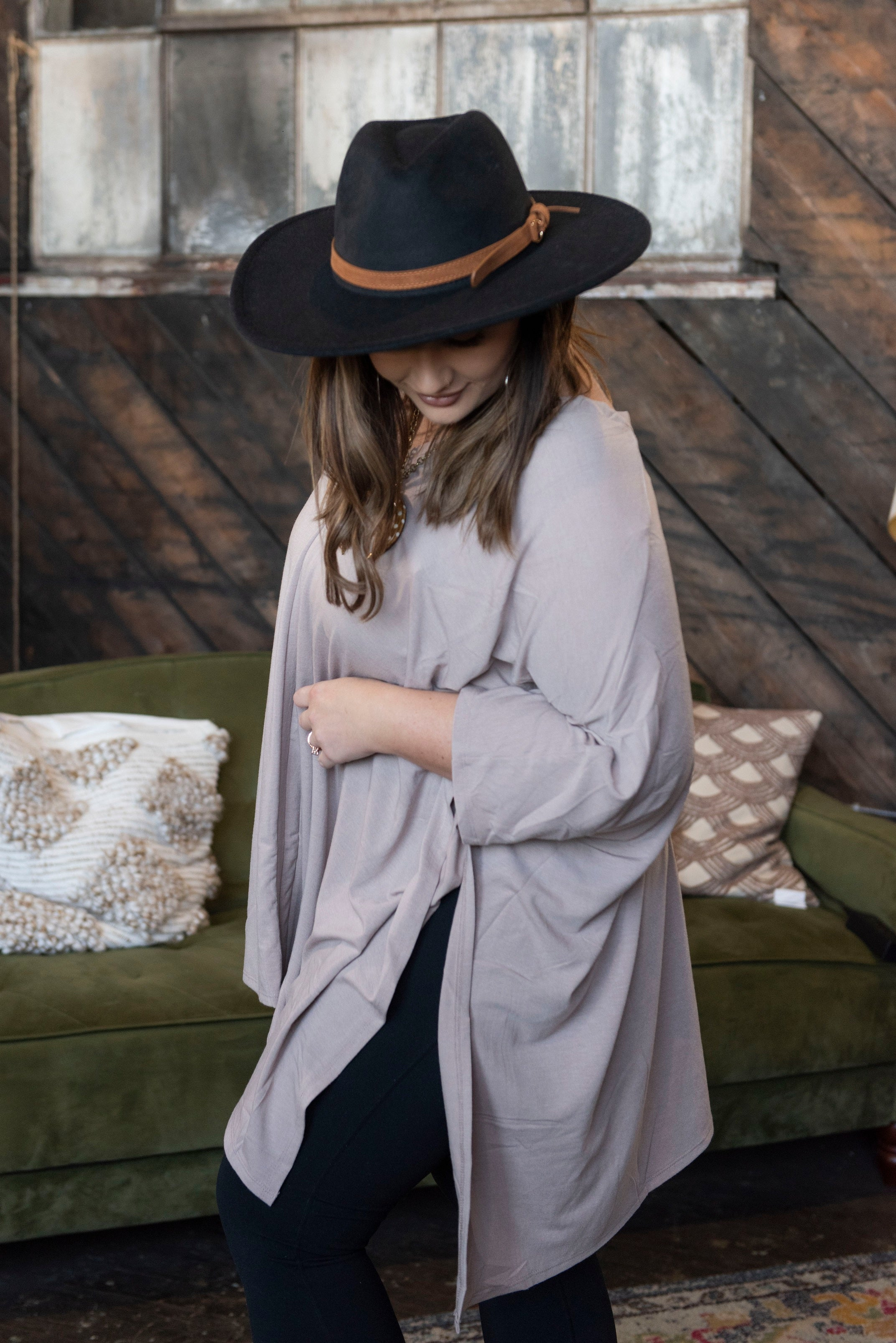 *FINAL SALE* The Anna Poncho Top