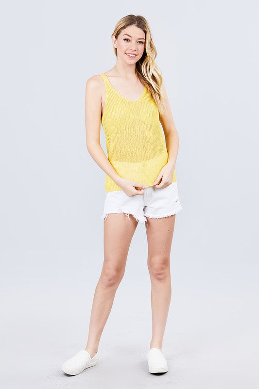 The Gracie Top - YELLOW