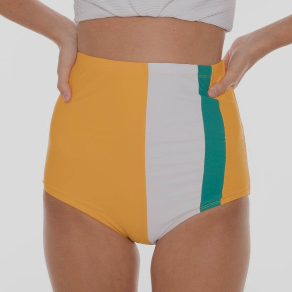 The Izzy Swimsuit Bottoms - YELLOW