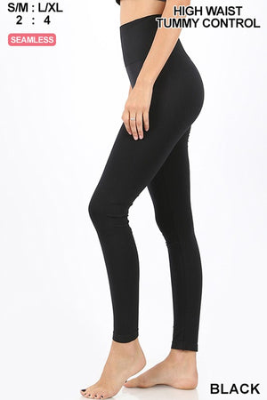 Layering Tummy Control Leggings - Jane & Kate