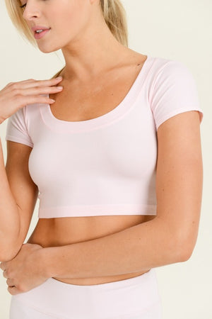 The Peyton Top - LIGHT PINK