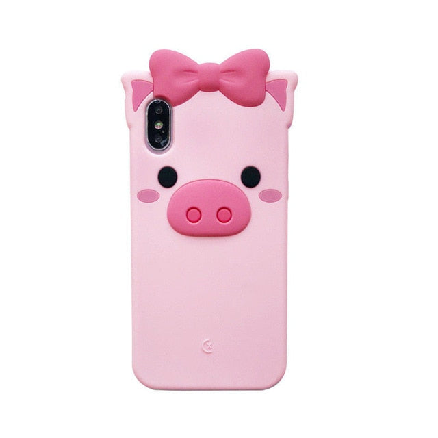 innovative design 0f145 8d81b Kawaii Silicone Phone Cases for iPhone – Hello Cute
