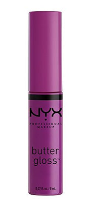 NYX BUTTER GLOSS RASBERRY TART