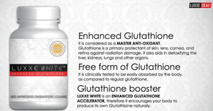 Frontrow Luxxe White Enhanced Glutathione Reviews 2018: Benefits and Side Effects