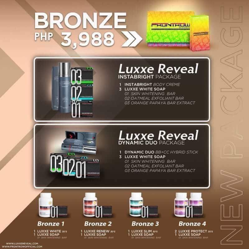 Frontrow Bronze Membership Package - Luxxe Deal Philippines