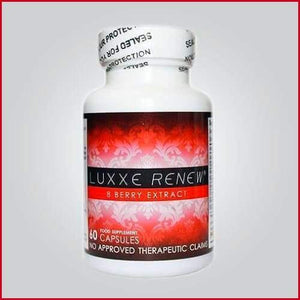 Authentic Luxxe Renew® Anti-Aging 8 Berry Extract 60 Capsules (600mg) - Luxxe Caps