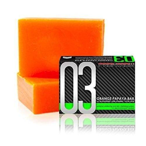 Luxxe Soap 03 Orange Papaya Bar - Luxxe Soap